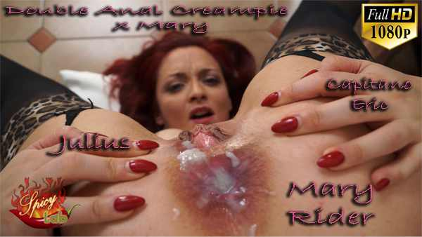 Trailer - Double Anal Creampie per Mary